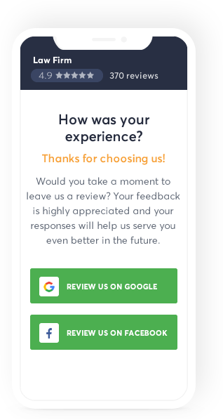 Online Review Generator | Client Chat Live