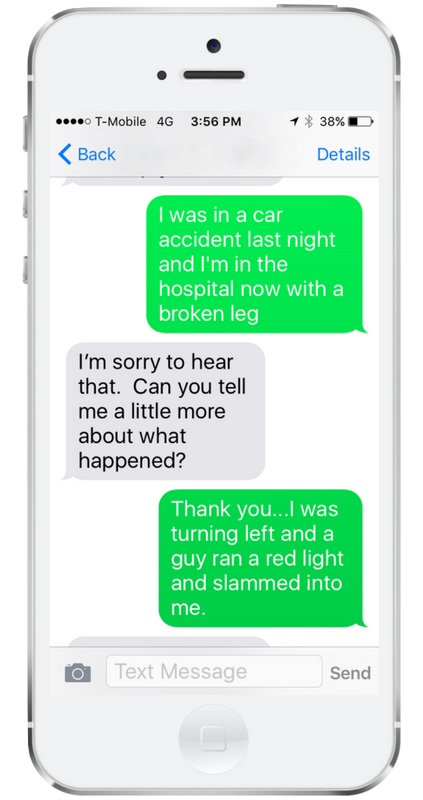 Add Text to Chat for Your Law Firm